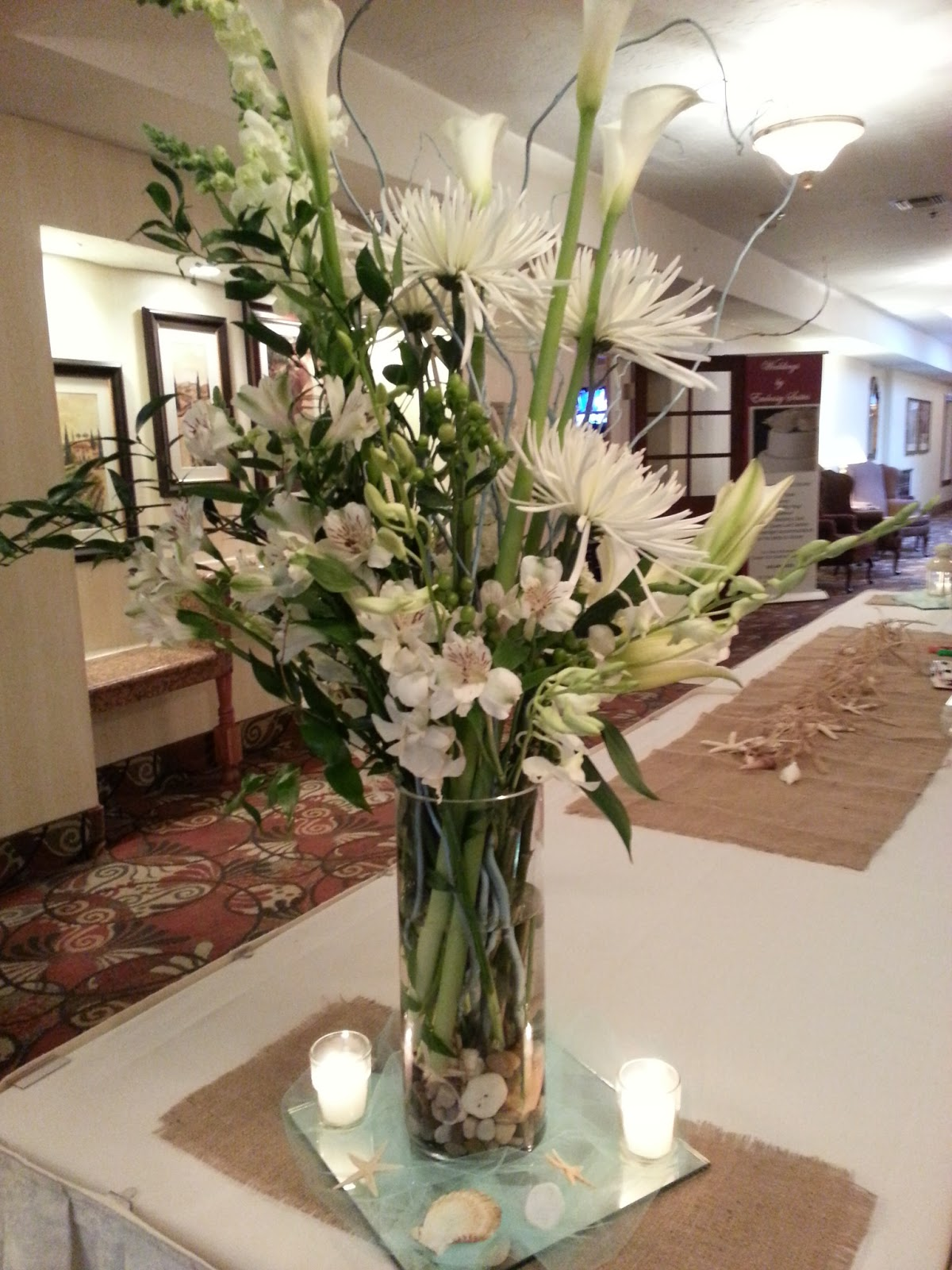 wedding flowers centerpieces photo - 1