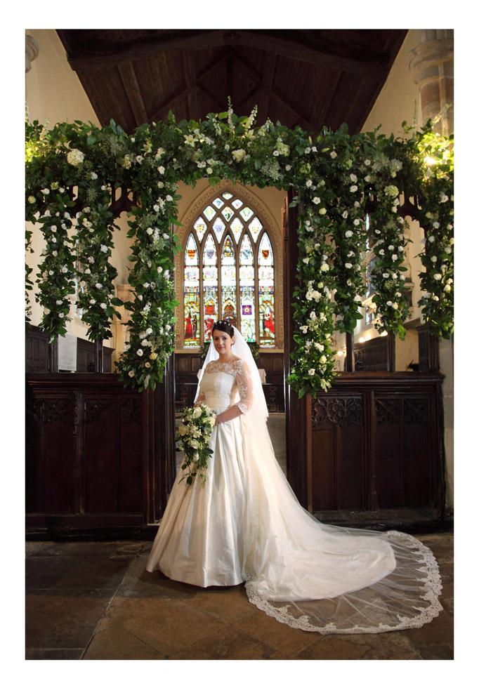 wedding flowers for church photo - 1