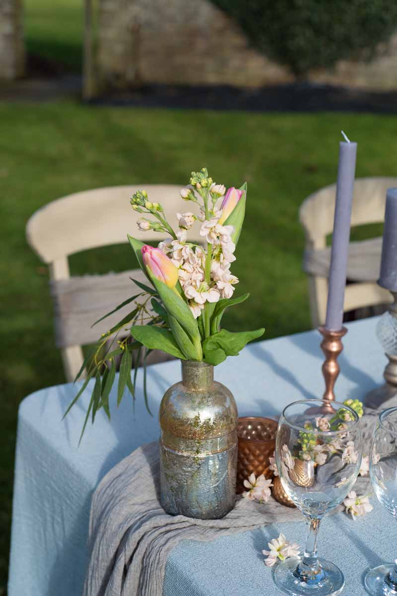 wedding flowers for tables photo - 1