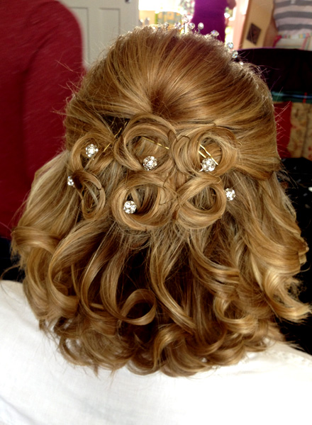 wedding flowers hair accessories photo - 1