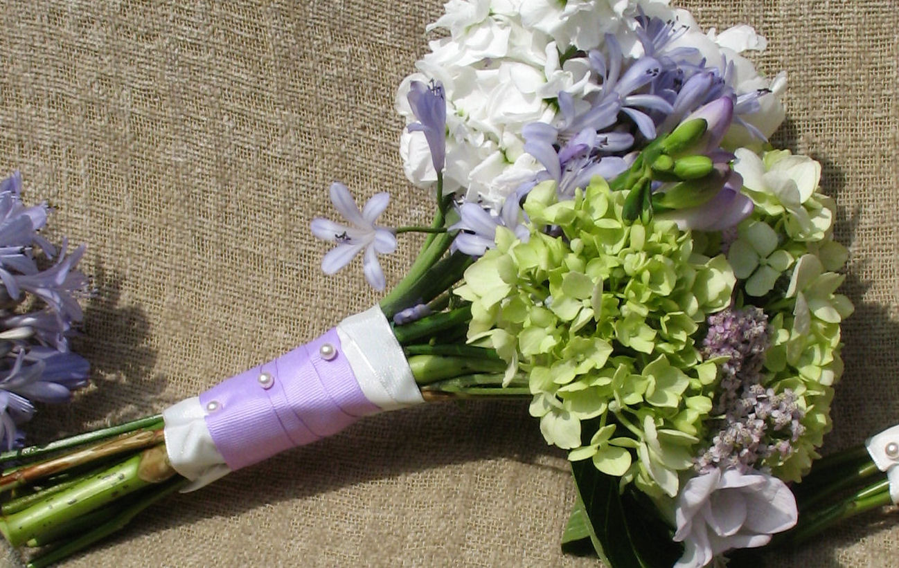 wedding flowers hydrangeas photo - 1