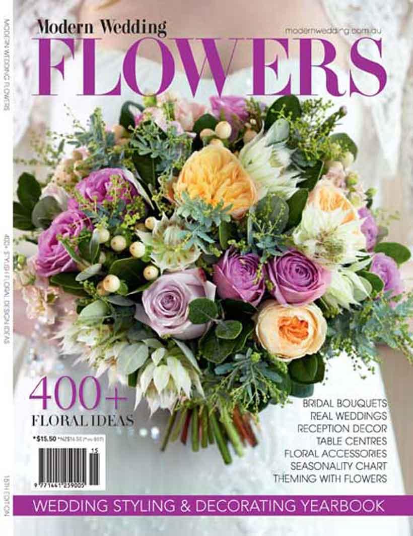wedding flowers magazine photo - 1