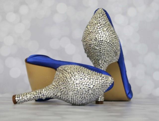 wedding shoes 2 inch heel photo - 1