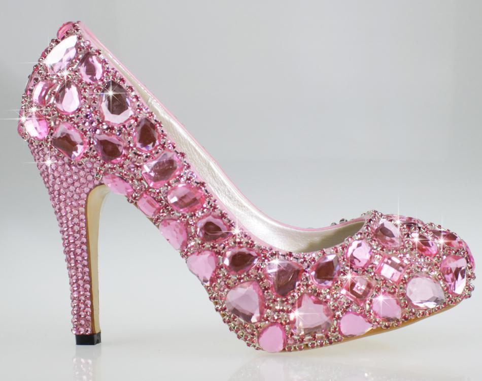 wedding shoes 4 inch heel photo - 1
