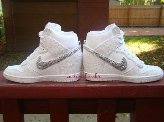wedding shoes bling photo - 1