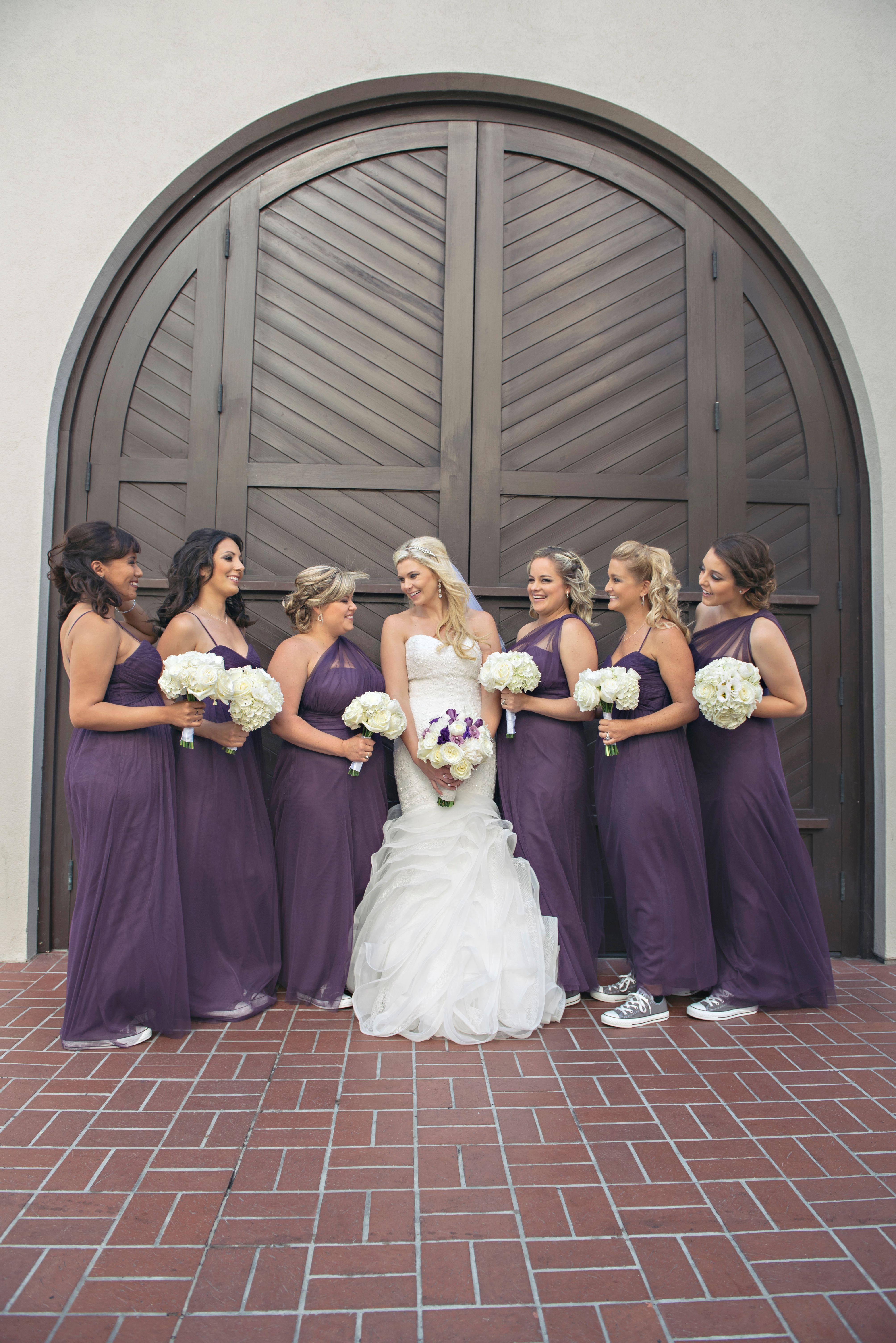 wedding shoes bridesmaid photo - 1