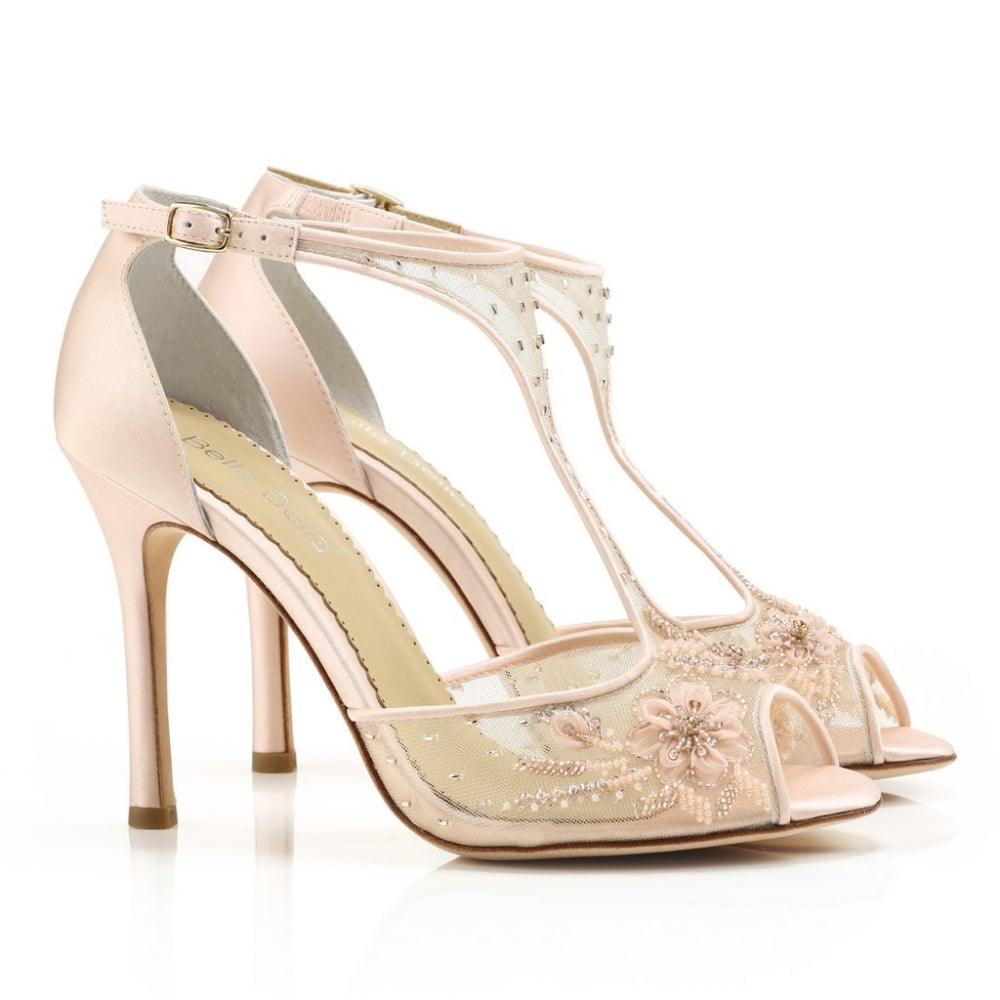 wedding shoes for blush dress photo - 1