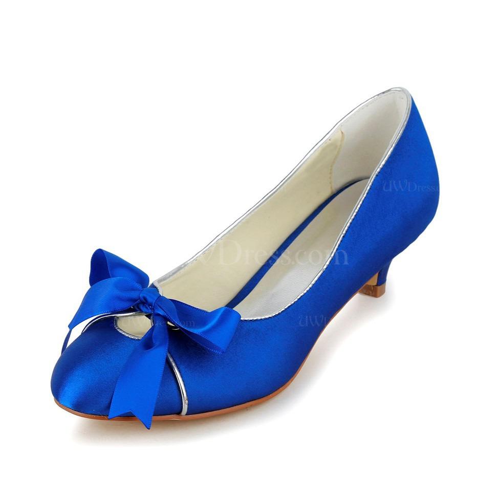 wedding shoes low heel cheap photo - 1