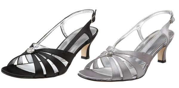 wedding shoes low heel wide width photo - 1