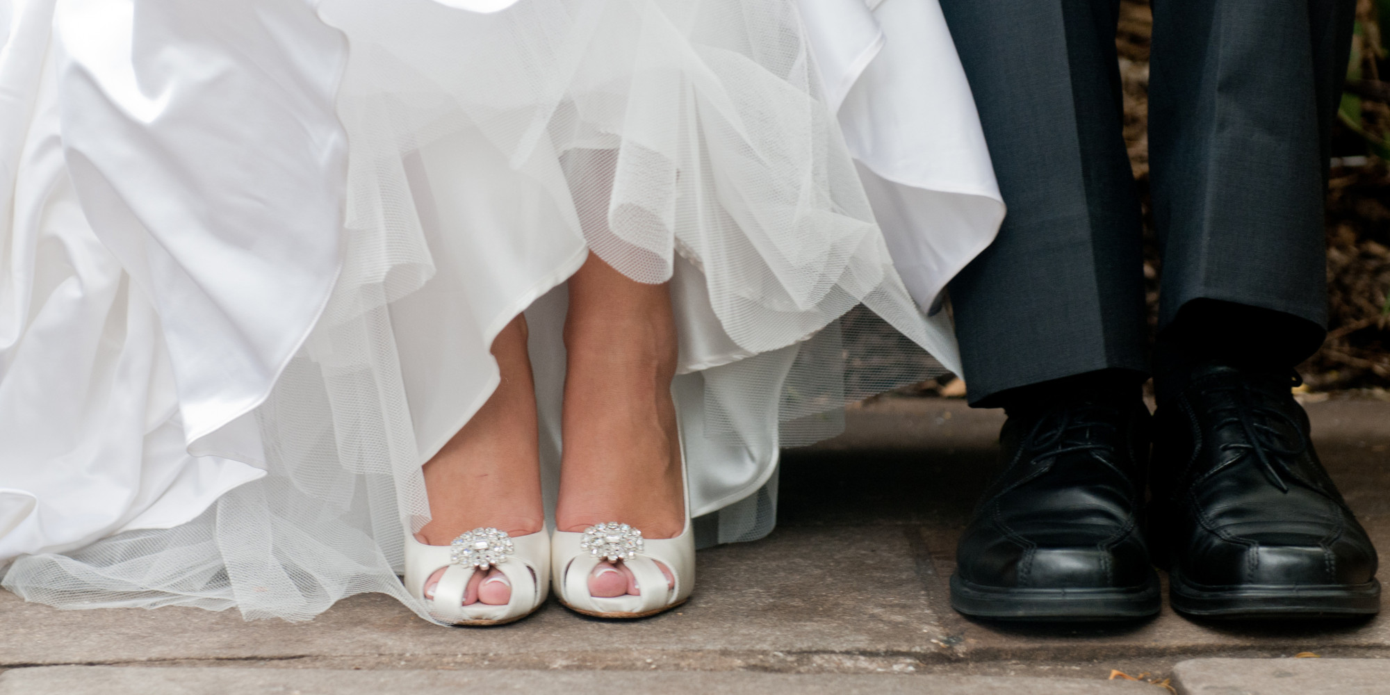 wedding shoes wide feet photo - 1