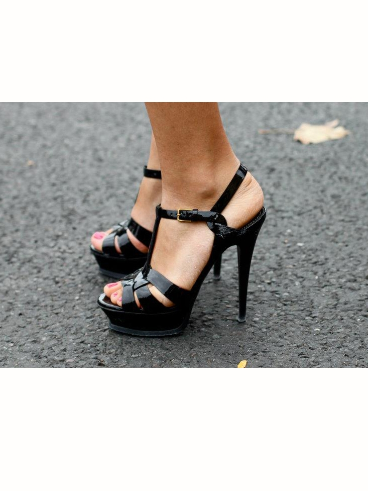 ysl bridal shoes photo - 1